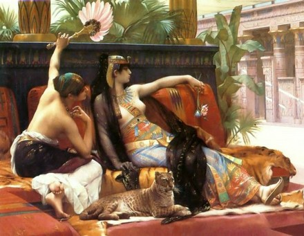 Клеопатра в Александрии (картина)