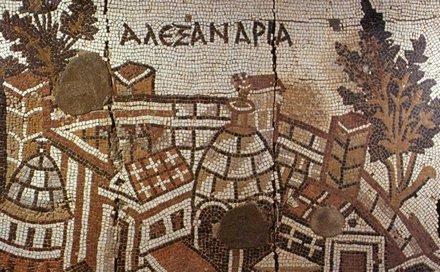 Александрия - древняя картина