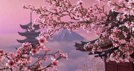 Япония Фудзияма