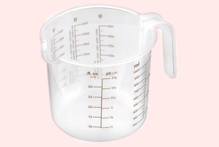 Кружка для измерения веса жидких продуктов