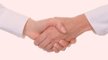 Женское рукопожатие