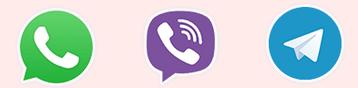 Viber WhatsApp icons