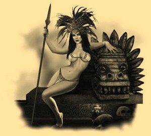 Обнаженная амазонка