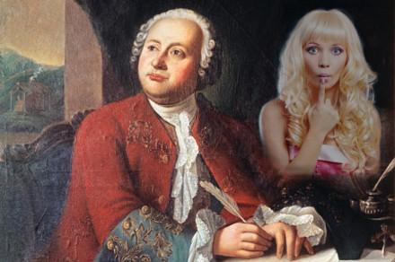 Блондинка и Ломоносов