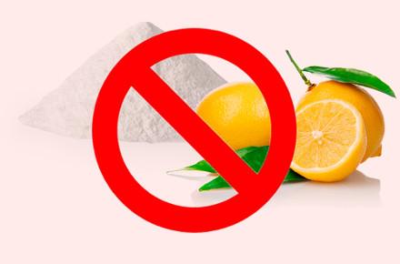 Без лимонной кислоты